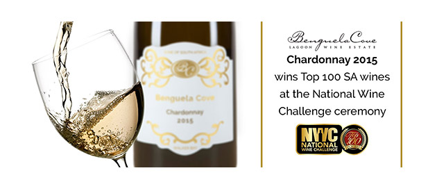 Benguela Cove Chardonnay 2015 wins Top 100 SA wines