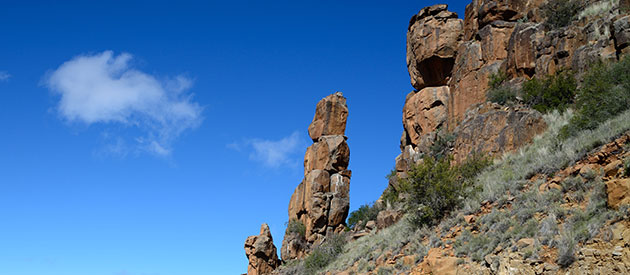 Interesting Geological Information at the Karoo National Park : SANParks
