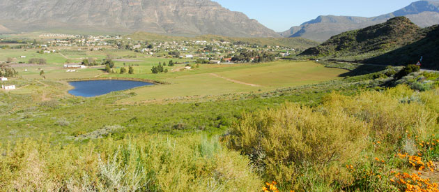 Barrydale, in the Western Cape, South Africa, Route 62, Accommodation, Activities