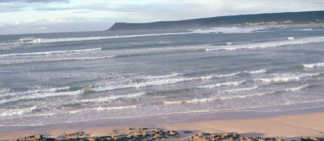 Witsand is situated on the Southern coast of the Western Cape Province of South Africa.